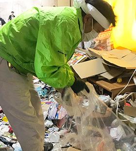 南幌町の家・部屋の片付け、不用品の処分、ゴミ屋敷清掃、遺品整理、クロス張替なら便利屋ラビット