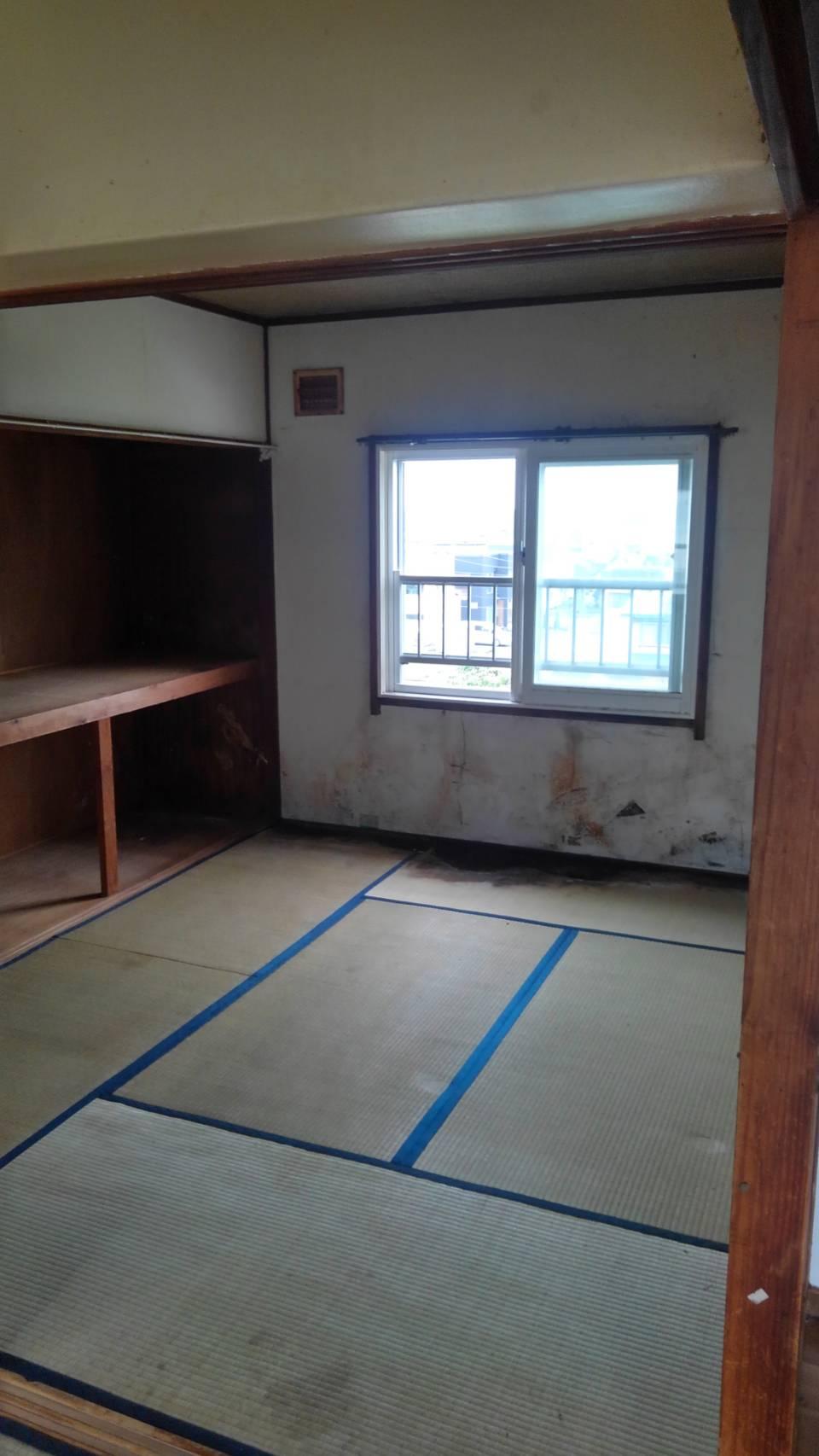 ゴミの撤去後 和室➁