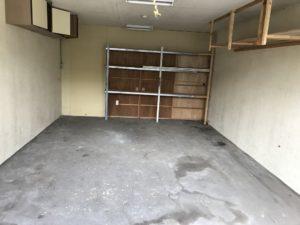 車庫の片付け