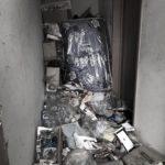ゴミ部屋の入り口