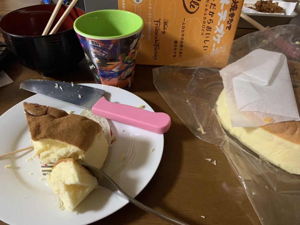 上物チーズケーキ