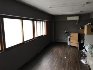 札幌市北区|クロスの張替え完成|1日目