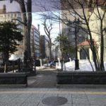 人のいない札幌時計台