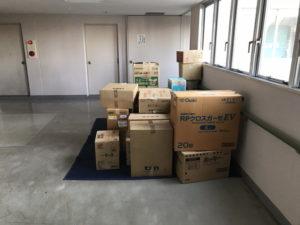 引っ越しの荷物の搬出作業