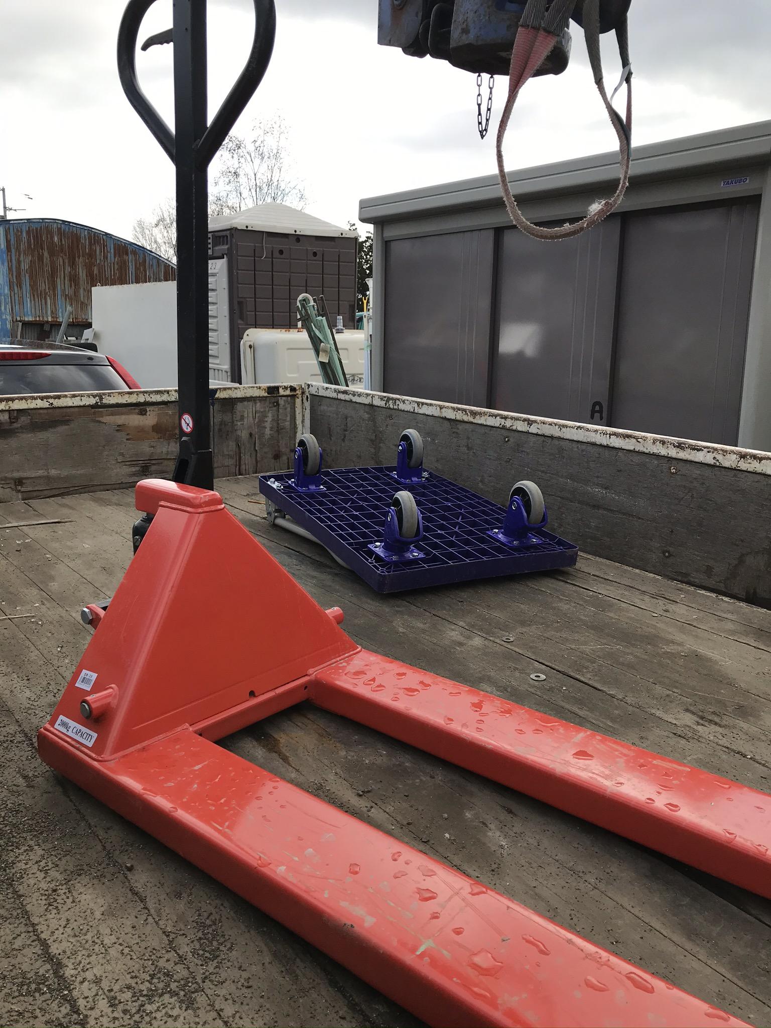 札幌市北区14条西|校内作業場の、重量物やゴミの移動と不用品処分の依頼|K様
