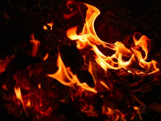 空き家の火災