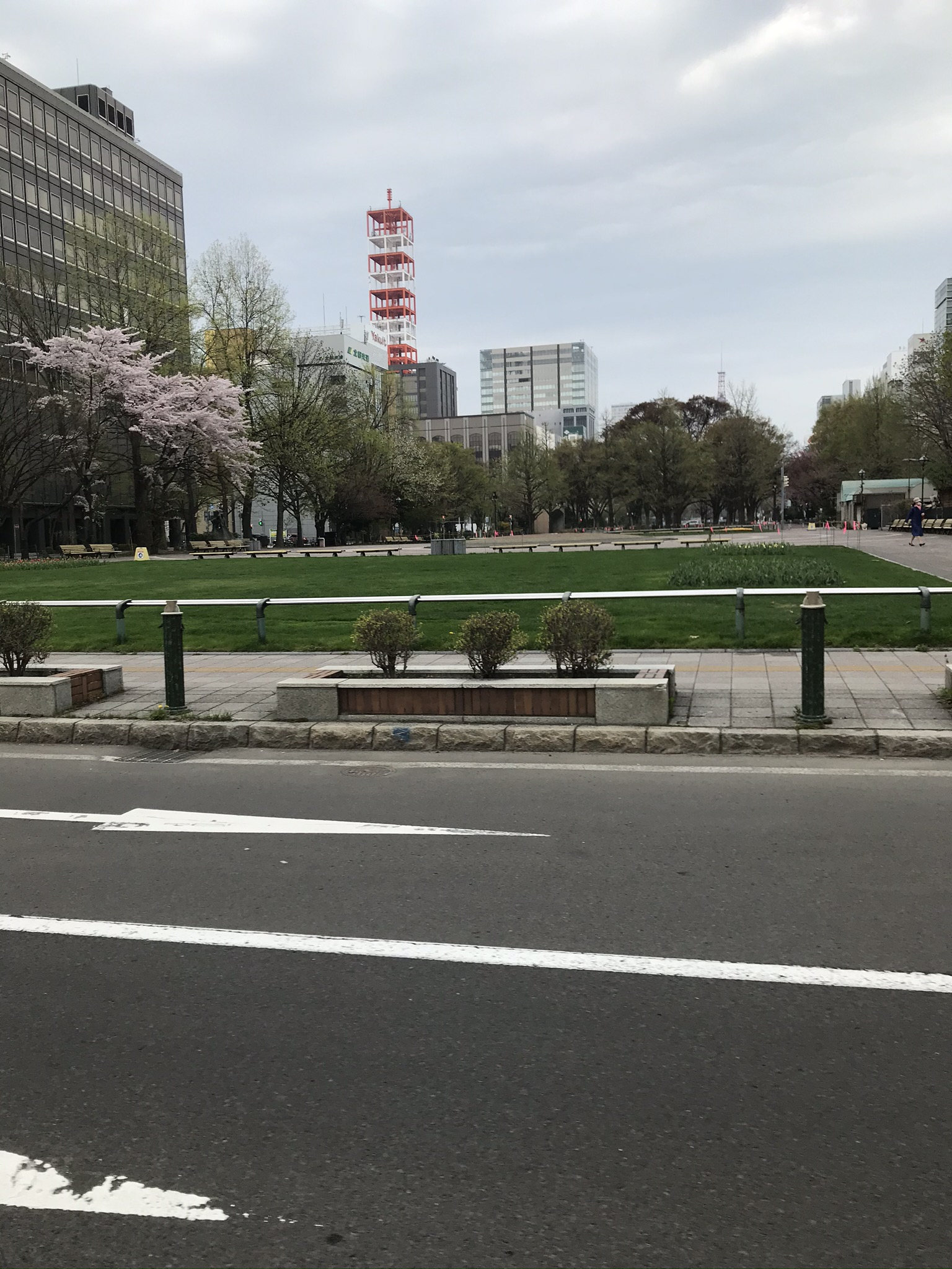 5月4日の札幌大通り公園