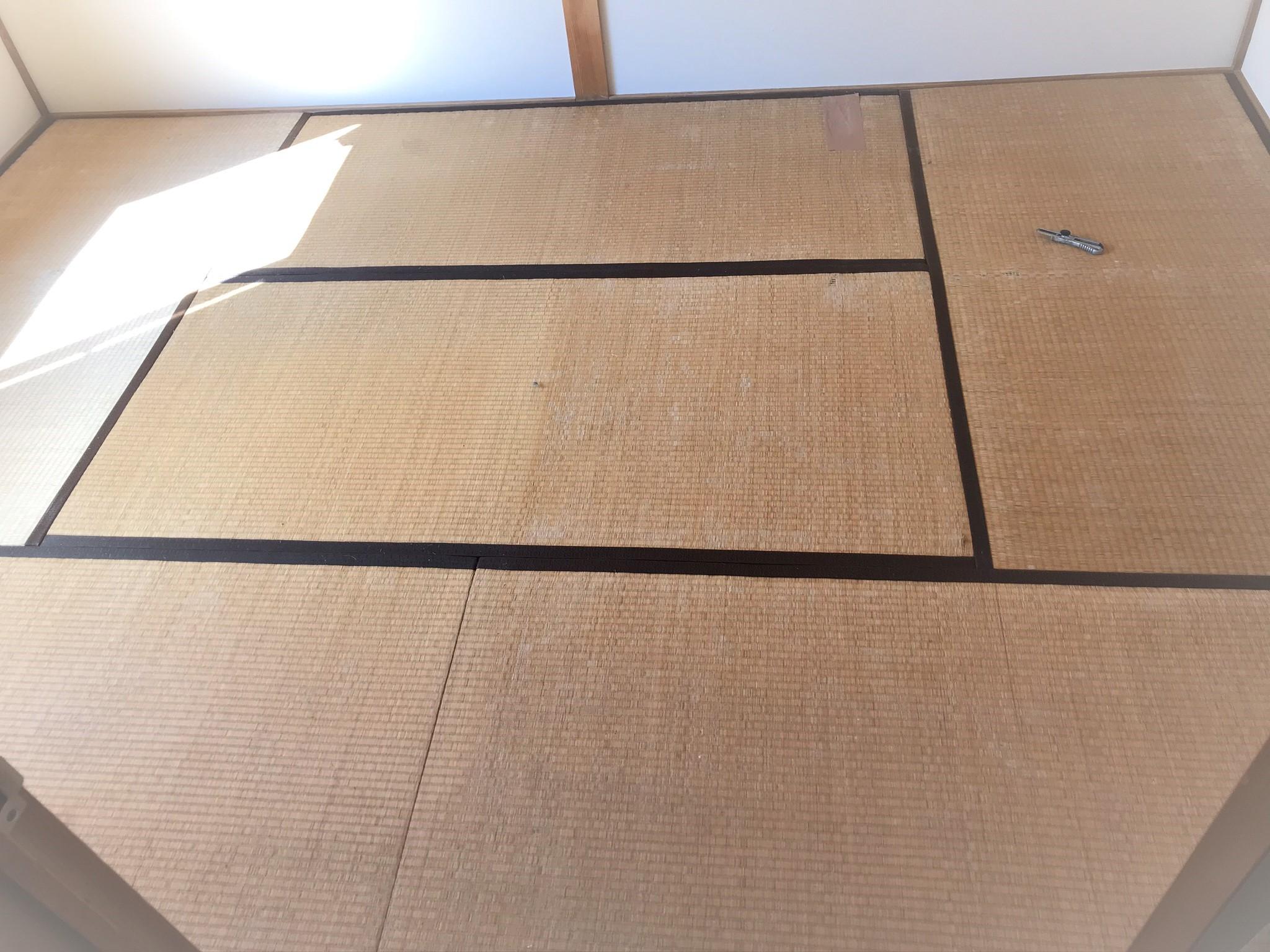 畳からフローリングに施工前